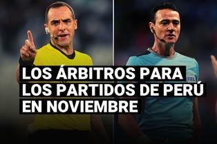 Selección peruana: conoce a los árbitros para los partidos de noviembre en Eliminatorias