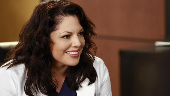 Sara Ramírez interpretó a Callie Torres, personaje que desapareció después de la temporada 12  (Foto: ABC)