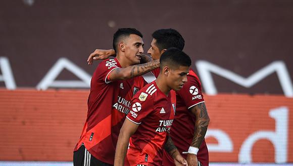 River Plate venció a Platense por Copa de la Liga Profesional con gol de Suárez. (Getty)