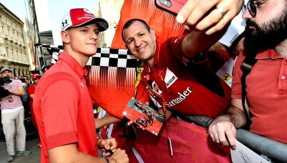 Mick Schumacher debutará en la Fórmula Uno. (Foto: Reuters)