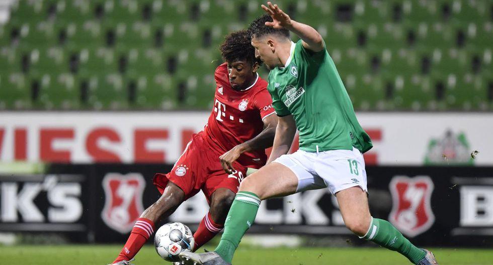 Kinglsey Coman llegó al Bayern Munich en la temporada 2015/16. (Foto: AFP)
