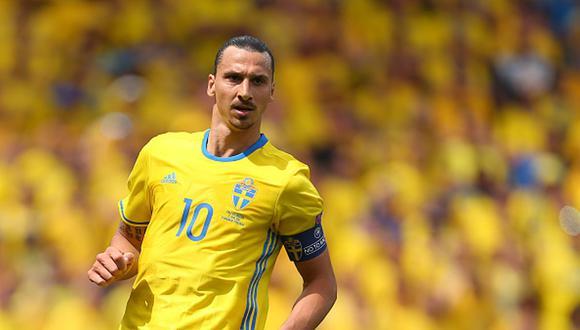 Zlatan Ibrahimovic se retiró de la selección de Suecia hace cuatro años. (Foto: Getty)