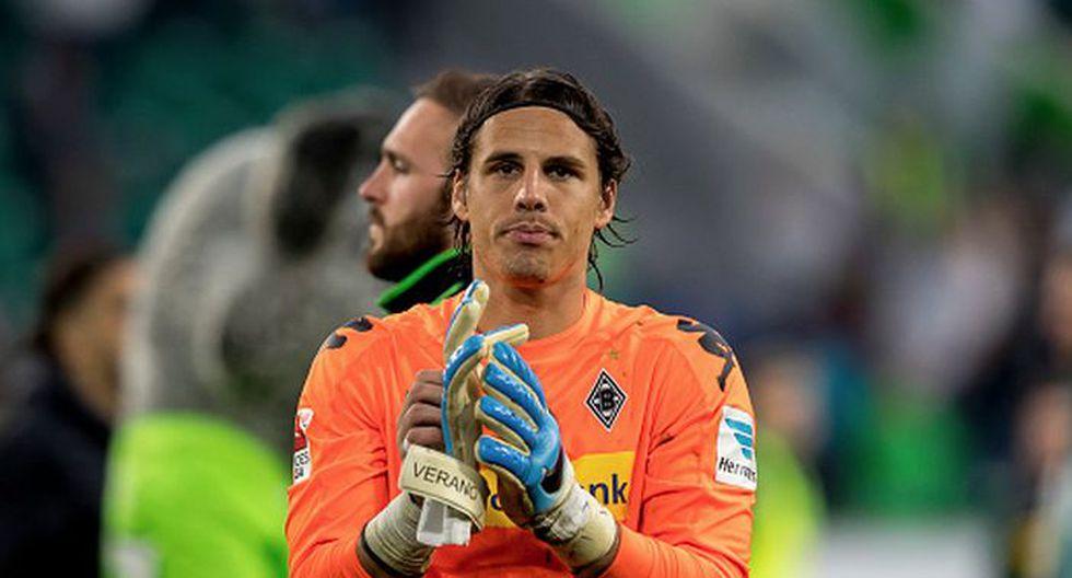 Yann Sommer / Borussia Mönchengladbach. (Foto: Agencias)