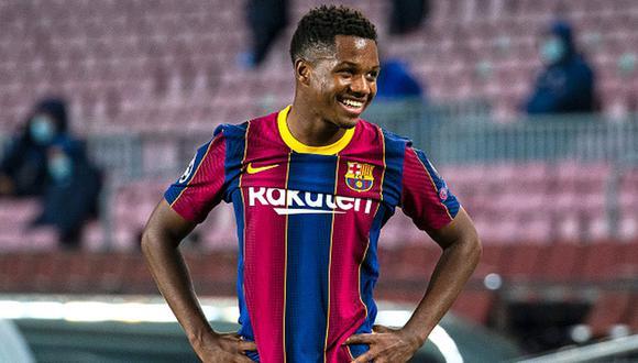 Ansu Fati surgió en la cantera del Barcelona, club con el que ya debutó en Primera. (Foto: Getty Images)