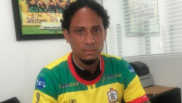 Pino regresa al fútbol colombiano. (Foto: Real Cartagena)