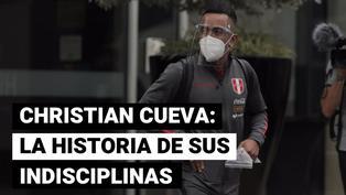 Selección peruana: Christian Cueva y sus casos de indisciplina