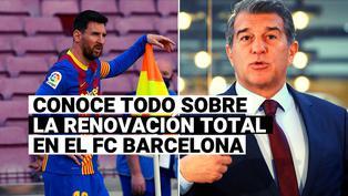 Lionel Messi, la piedra angular: el plan del Barça con 14 salidas y refuerzos de jerarquía