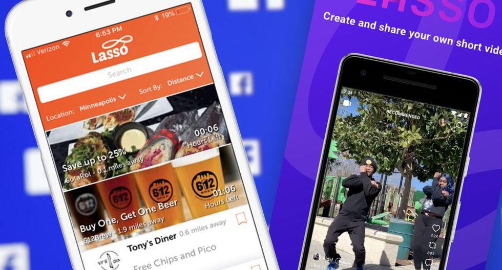 """Lasso, el """"Tik Tok"""" de Facebook, ya está disponible en Perú"""