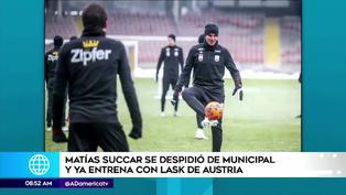 LASK Linz de Austria anunció a Matías Succar como nuevo delantero