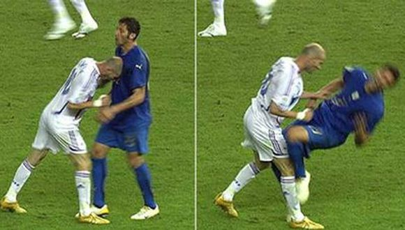 Marco Materazzi recordó los momentos previos al famoso cabezazo que recibió de Zinedine Zidane. (Foto: Captura de FIFA)