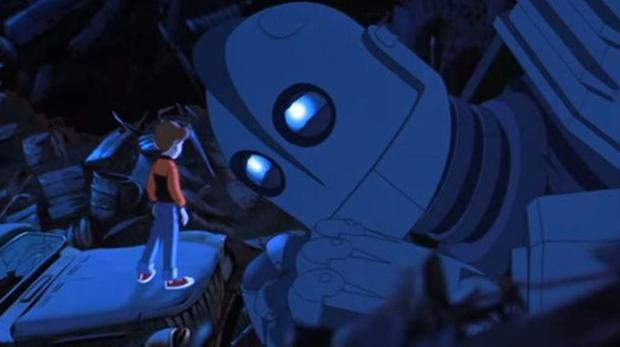 """Vi Diesel lent his voice to """"The iron Giant"""" (Photo: Warner Bros.)"""