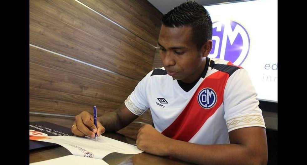 Cristian Dávila. (Foto: Deportivo Municipal)