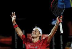 El 'Peque' es gigante: Schwartzman clasificó a la final del Masters 1000 de Roma