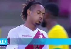 Selección peruana: André Carrillo sufrió lesión y se perdería los duelos por Eliminatorias
