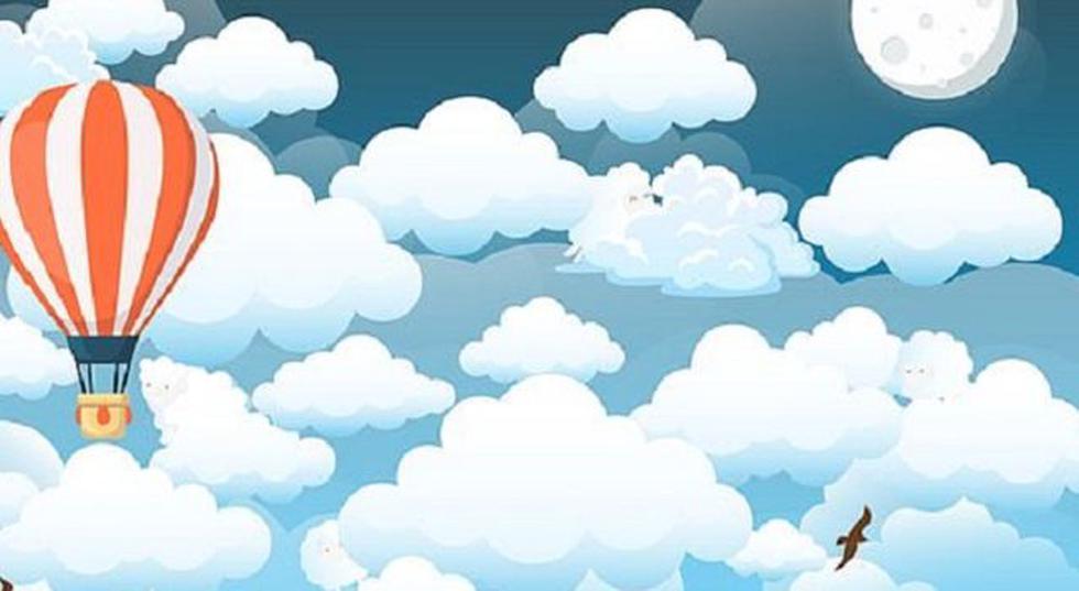 ¿Puedes encontrar las ovejas entre las nubes de este reto que da la hora en Facebook? (Difusión)