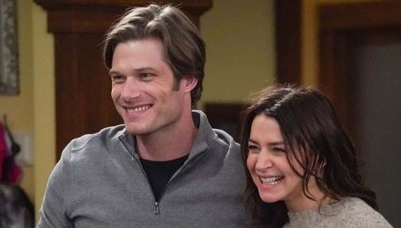 """""""Alguien me salvó la vida esta noche"""" termina con la propuesta de matrimonio de Link a Amelia, uno de los momentos más emotivos del capítulo final de la temporada 17. (Foto: ABC)"""