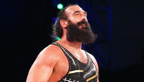 Brodie Lee (o Luke Harper en WWE) llegó a AEW a mediados de marzo. (Foto: Twitter)