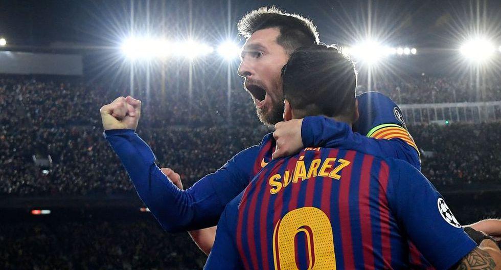 Lionel Messi acabó como máximo goleador de la Champions League por sexta vez. (AFP)