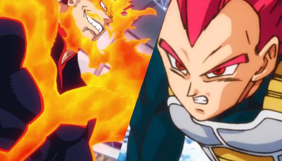 Dragon Ball Super: Vegeta y Endeavor se fusionan en impresionante fan art. (Foto: Funimation, Toei Animation)