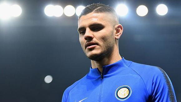 Mauro Icardi volvió a ser criticado por temas extrafutbolísticos.(Foto: Getty Images)