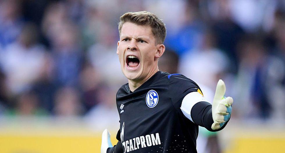 El arquero Nübel, vinculado con el Bayern Múnich tras rechazar renovar con Schalke 04. (Getty Images)