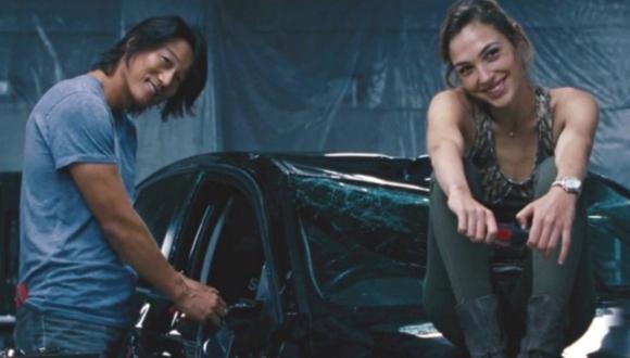 A pesar de haberse visto sus muertes en Rápidos y furiosos 6, Han y Gisele casi reaparecen en Furious 7 (Foto: Universal Pictures)