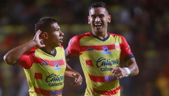 Edison Flores lleva nueve goles con Morelia. (Getty)