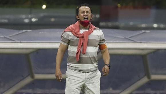 Juan Reynoso renovará contrato con Cruz Azul. (Foto: AP)
