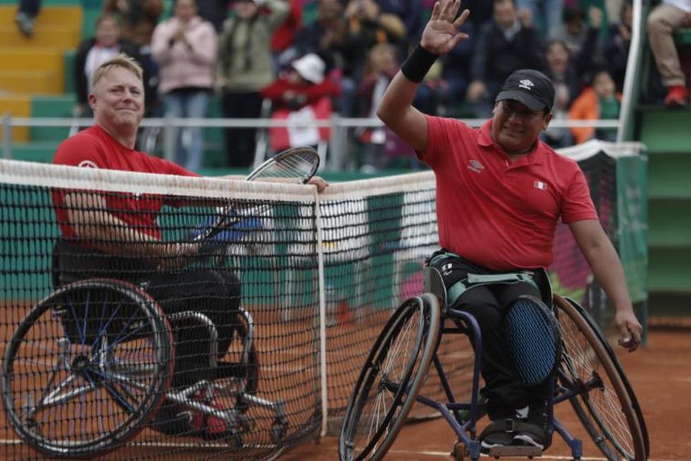 Así fue la participación peruana en tenis en silla de rueda en los Juegos Parapanamericanos 2019. (Fotos: Renzo Salazar)