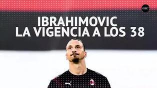 Con casi 39 años, Zlatan Ibrahimović sigue brillando