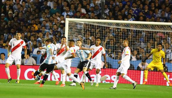 El último partido de Perú en tierras argentinas terminó igualado sin goles. Fue en 2017 por las Eliminatorias Rusia 2018. (Foto: GEC).