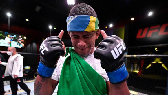 El brasileño tiene un historial de 19 victorias y 3 derrotas en combates de artes marciales mixtas. (Foto: Getty Images)