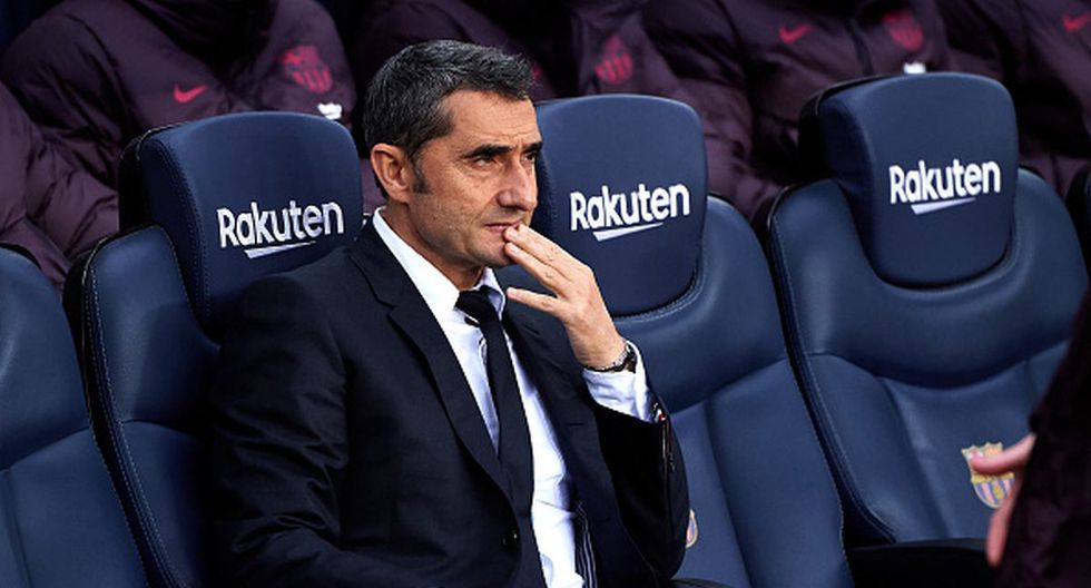 Ernesto Valverde solo ganó títulos a nivel local en el Barcelona. (Foto: Getty Images)