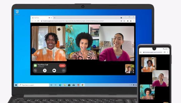 Conoce el método para instalar FaceTime en tu celular Android o PC con Windows 10. (Foto: Apple)