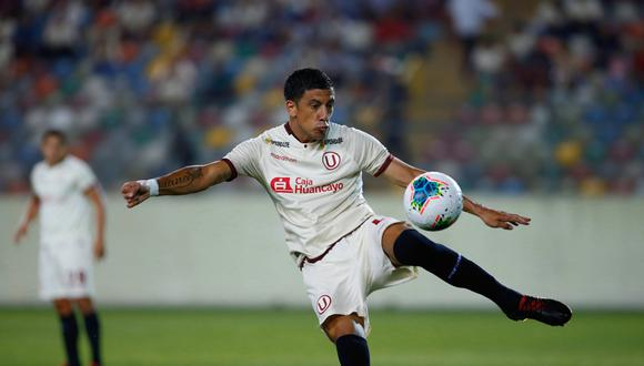 Federico Alonso llegó a Universitario esta temporada. (GEC)