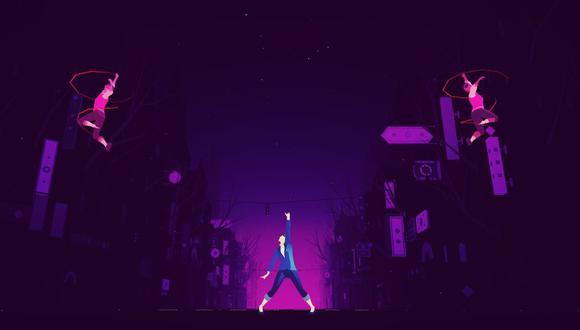 Captura del videojuego Sayonara Wild Hearts