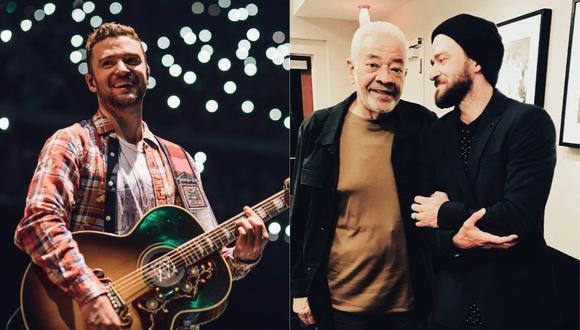 Justin Timberlake recuerda a Bill Withers, músico que falleció el 3 de abril. (Foto: @justintimberlake)