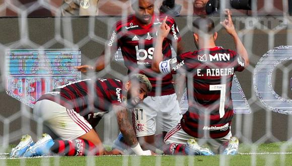 Flamengo campeón de la Copa Libertadores 2019. (AFP)