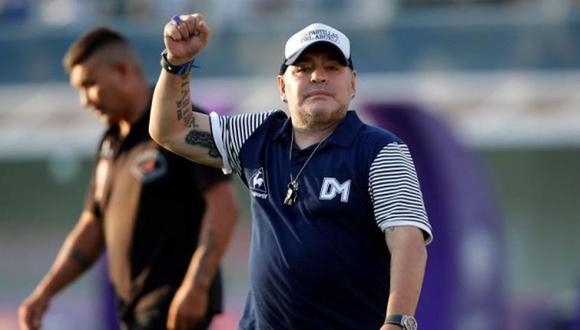 El desaparecido Diego Armando Maradona. (Foto: EFE)