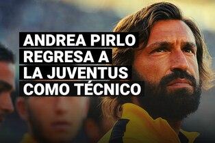 Andrea Pirlo regresa a la Juventus para iniciar su carrera como técnico en el equipo Sub 23