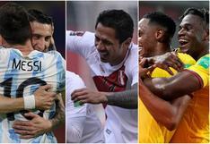 Parece la tabla de Eliminatorias: el valor de las selecciones que jugarán la Copa América [FOTOS]