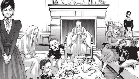 Historia de la familia Tybur, los poseedores del Titán Martillo de Guerra (Foto: Kodansha)