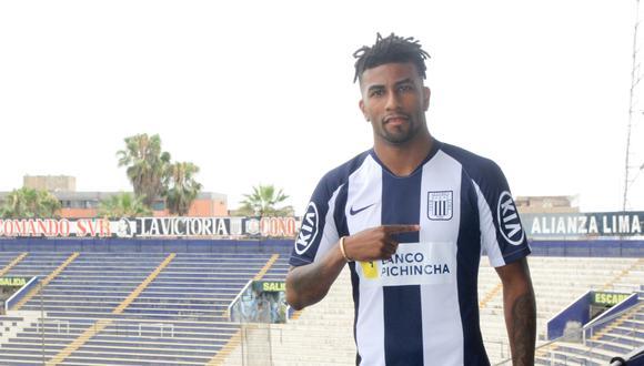 Ascues habló tras su incorporación a Alianza Lima.  (Prensa AL)