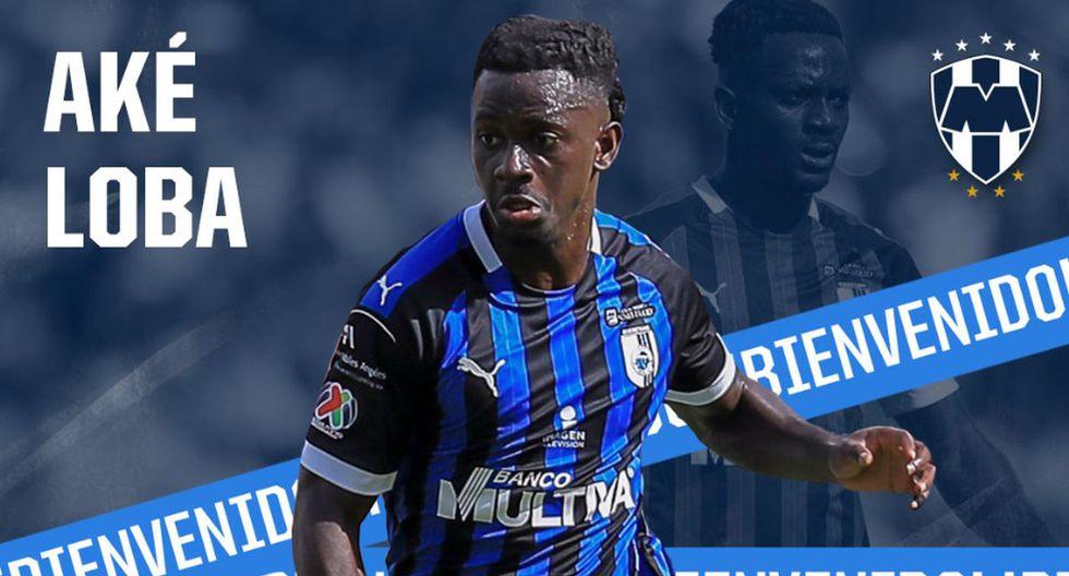 Aké Loba seguirá carrera como futbolista profesional en el Monterrey. (Foto: Twitter Rayados)