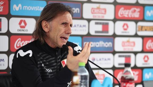 Ricardo Gareca dará conferencia de prensa para anunciar a los convocados a la Selección Peruana. (Foto: FPF)
