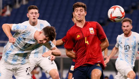 Argentina no pudo ante España en Saitama y se despide prematuramente de Tokio 2020. (Foto: AFP)