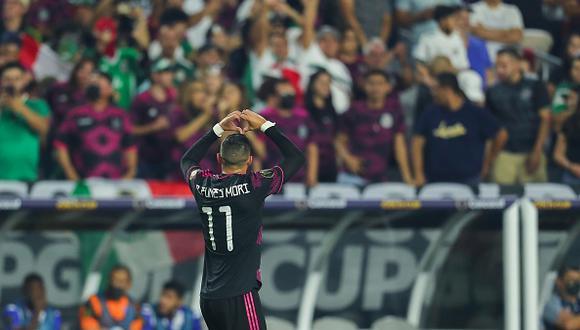 México vs. Honduras se vieron las caras este sábado por los cuartos de final de la Copa Oro 2021 (Foto: Getty Images)