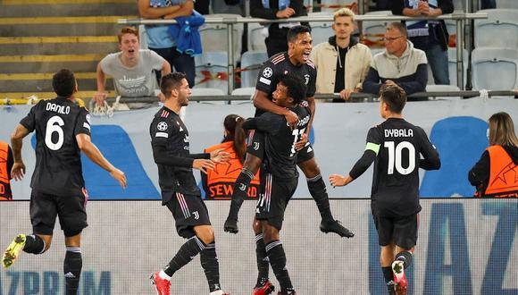 Juventus vs. Malmo EN VIVO y EN DIRECTO juegan por jornada 1 de Champions League. (Foto: EFE)
