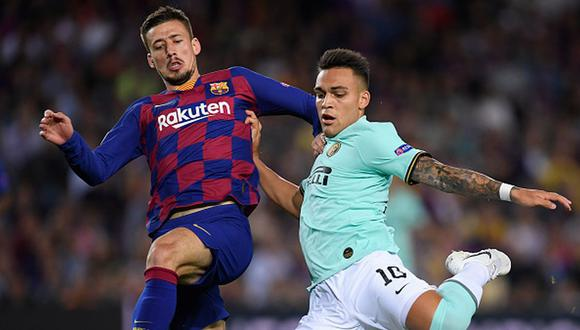 Lautaro Martínez llegó al Barcelona en 2018 desde Racing Club de Argentina. (Getty)