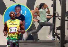 ¿La sucesora de Usain Bolt? Niña de 12 años corre a toda velocidad en video viral